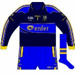 2009: For the Munster hurling final with Waterford, Cummins was forced to wear a navy version of his white jersey, basically the change shirt but with long sleeves.