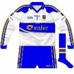 2010: As well as the GAA logo losing the 125th anniversary references, Cummins was seen lining out in a slightly different style of shorts in 2010.