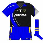 2011: Another change shirt, worn by football goalkeeper Paul Fitzgerald against Laois. An odd choice given that the outfielders wore navy that day.