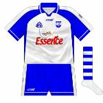 2007: Hooped socks became an integral part of the Waterford hurling kit for 2007.