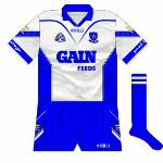 2002: Upon Justin McCarthy's instalment as Waterford manager, he informed the county board that blue shorts would be worn by the county as an all-white kit sent out a sign of weakness. Clearly no fan of Real Madrid was Justin.