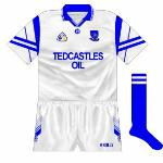 1996: Aother year, another loss to Tipp, this time with the jerseys sporting the ubiquitous 'Tara' design on the sleeves.