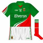 2012-14: Not necessarily a bad jersey per se, but not - to our mind at least - a 'proper' Mayo jersey at it lacked the famous hoop. They did come close to winning the All-Ireland while wearing it though, losing the 2012 and '13 finals.