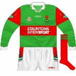 2001: 'Proper' long-sleeved version of the  normal jersey .