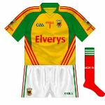 2011: Used against New York and Galway in Connacht championship, yellow was an unusual choice, making the shirt resemble a Carlow change kit - if they ever had to wear one, of course.