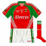 2009: Once again, the same design as the normal jersey but the colours reversed and no hoop.