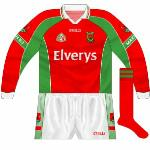 2005: Long-sleeved version, used against Kerry in the league.