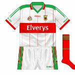 2006: Again the minor side opted to use white as a change colour, wearing it against Leitrim and Kerry.